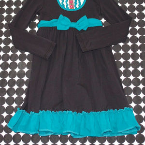 Matilda Jane Dresses - Matilda Jane Dark Blue/Black Teal Tuxedo Dress 8